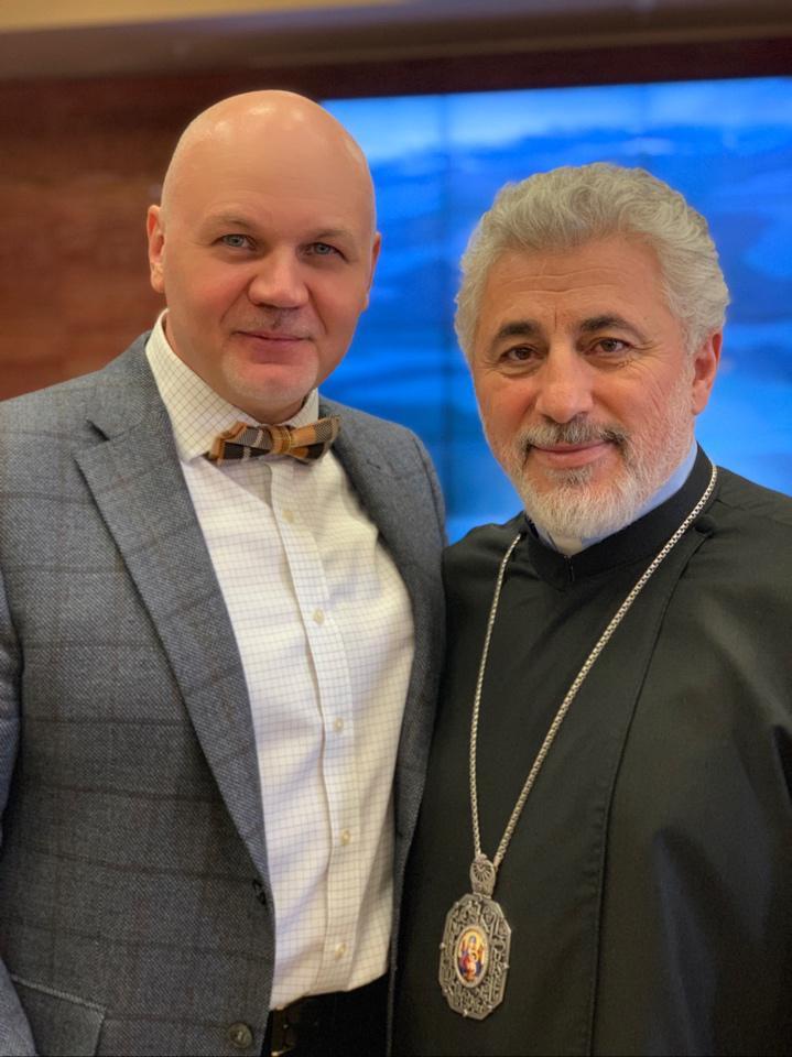 Армяне Москвы отметили праздник Воскресения Христова
